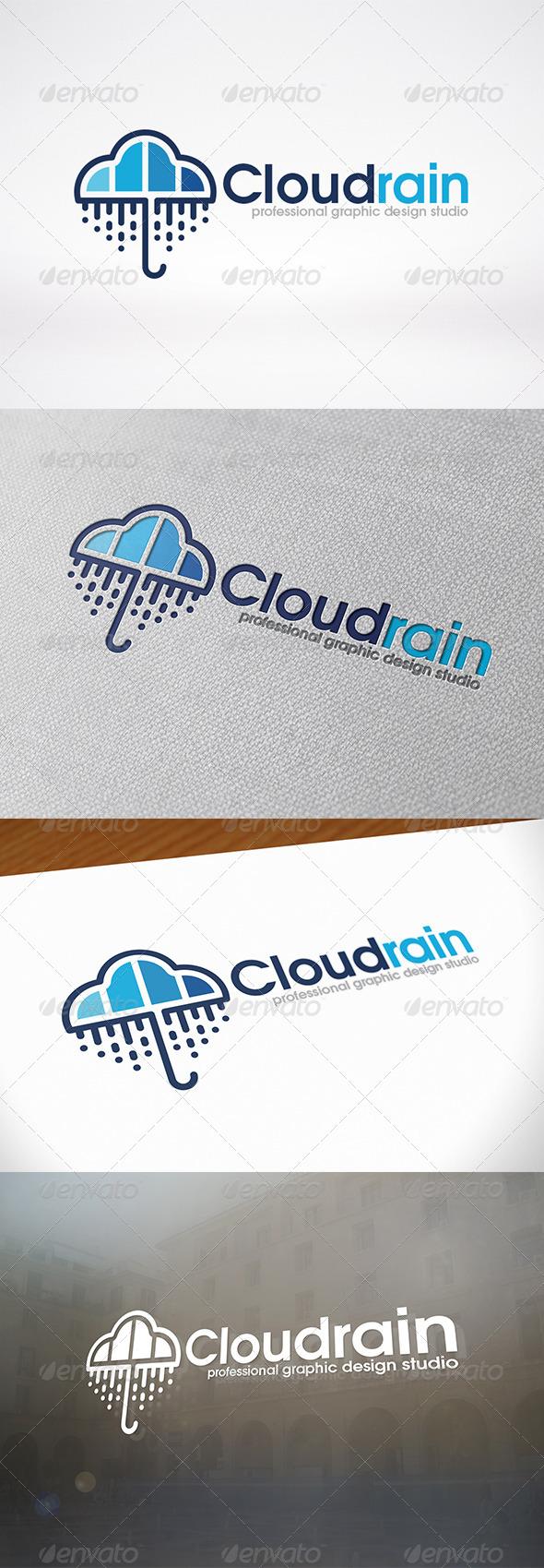 GraphicRiver Umbrella Logo Template 6734592