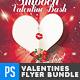 Valentines Day Love Flyer Bundle