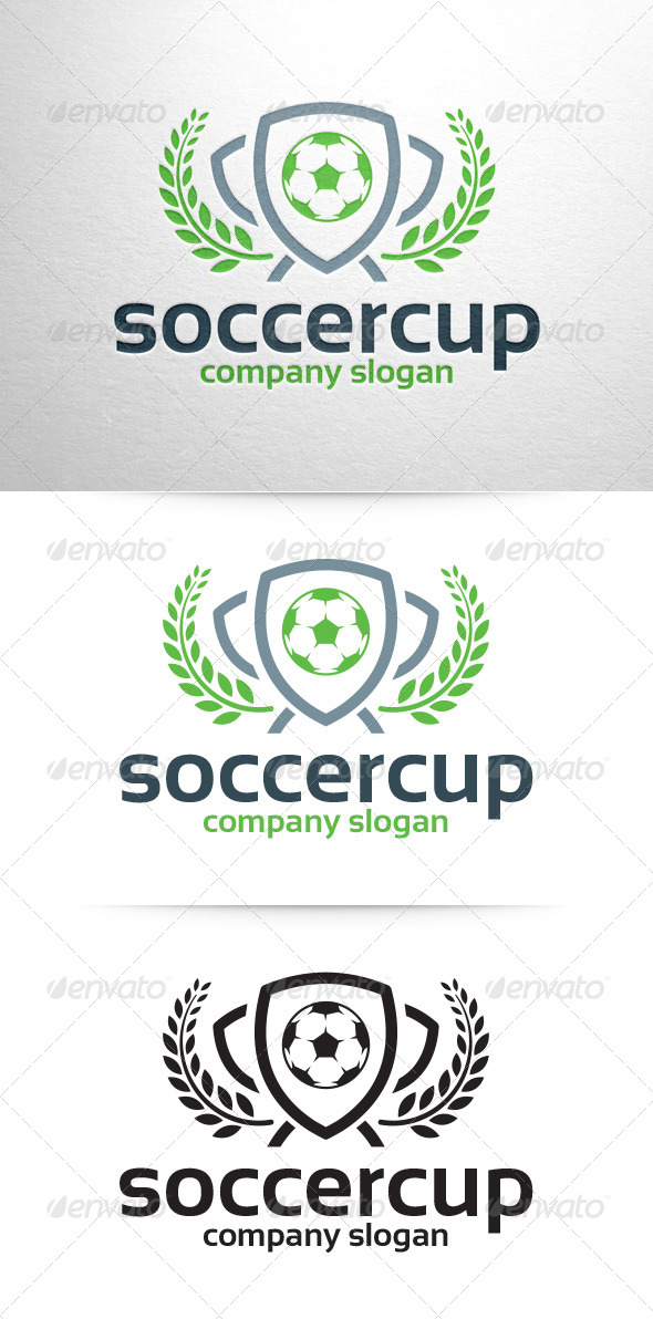 GraphicRiver Soccer Cup Logo Template 6734705