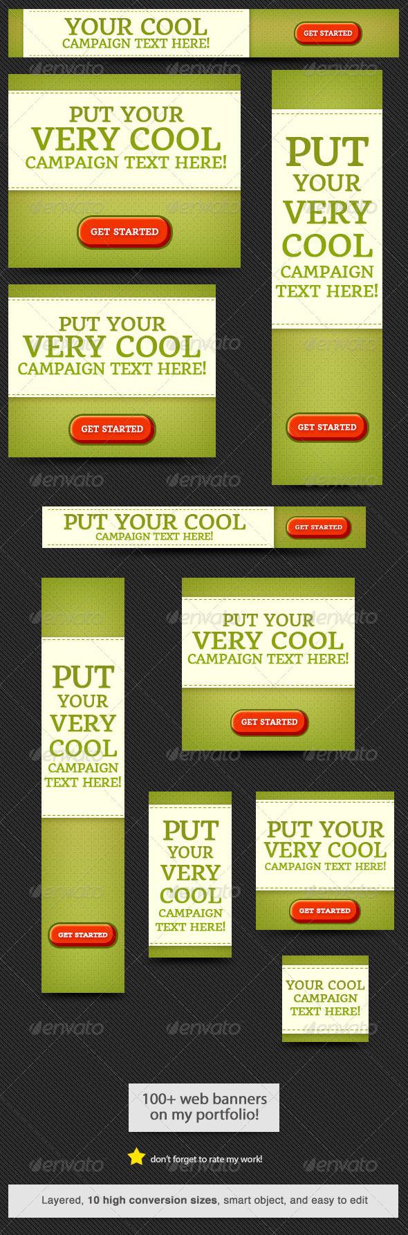 GraphicRiver Cool Web Banner Design 6734770