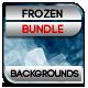 Frozen Backgrounds Bundle - GraphicRiver Item for Sale