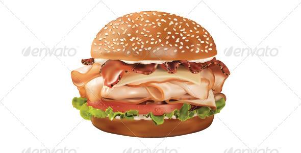GraphicRiver Sandwich 6725439
