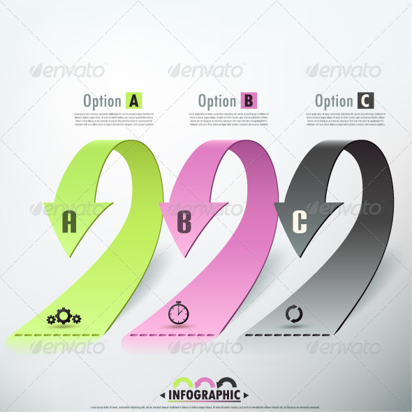 GraphicRiver Modern Infographic Options Banner 6735111