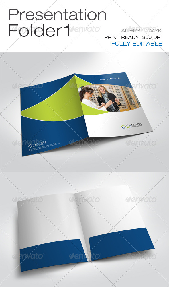GraphicRiver Presentation Folder 6735116