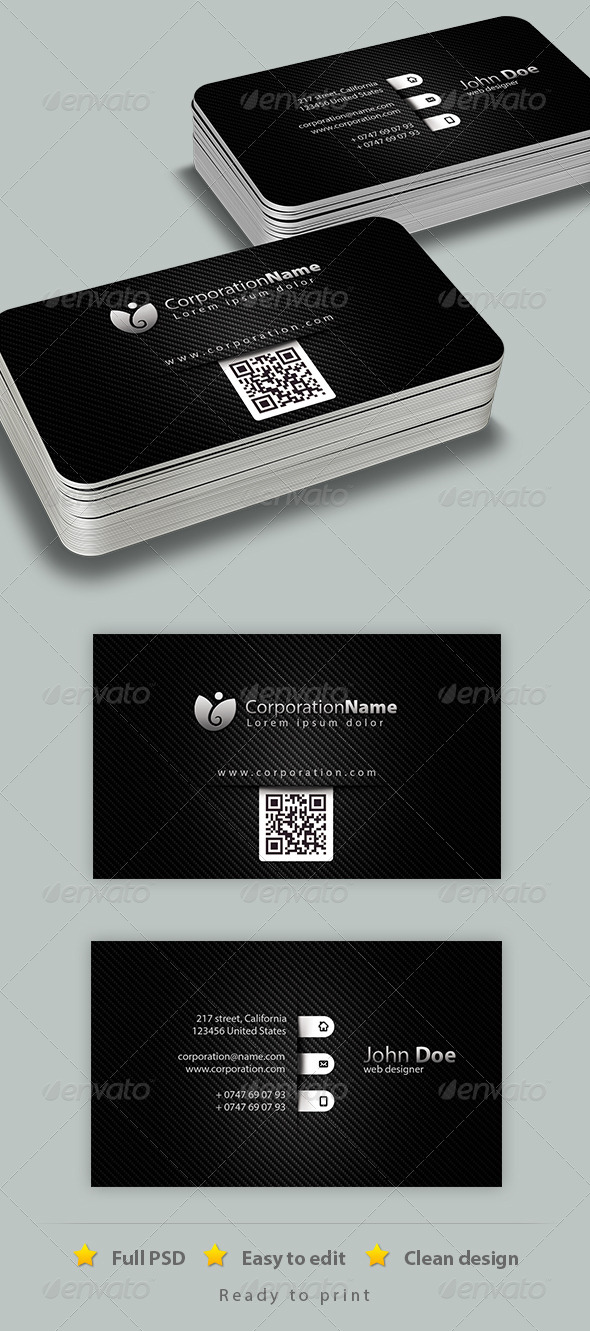 GraphicRiver Corporate Business Card 6735434