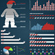 Christmas infographic elements - GraphicRiver Item for Sale