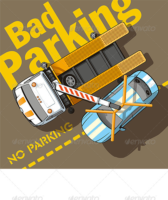 GraphicRiver Bad Parking 6735496