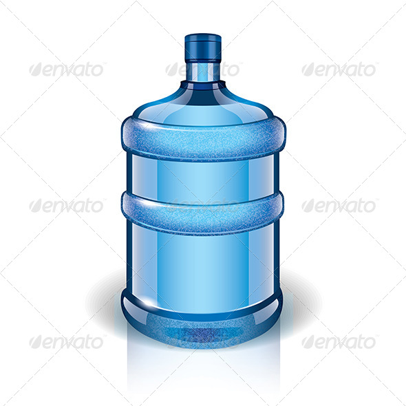 GraphicRiver Water Bottle 6724950
