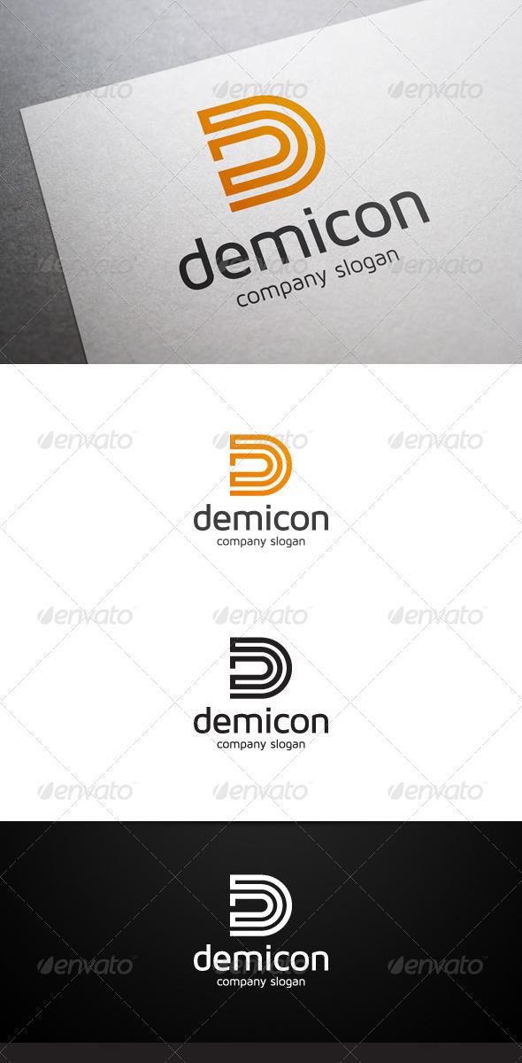 GraphicRiver Demicon D Letter Logo V2 6735744