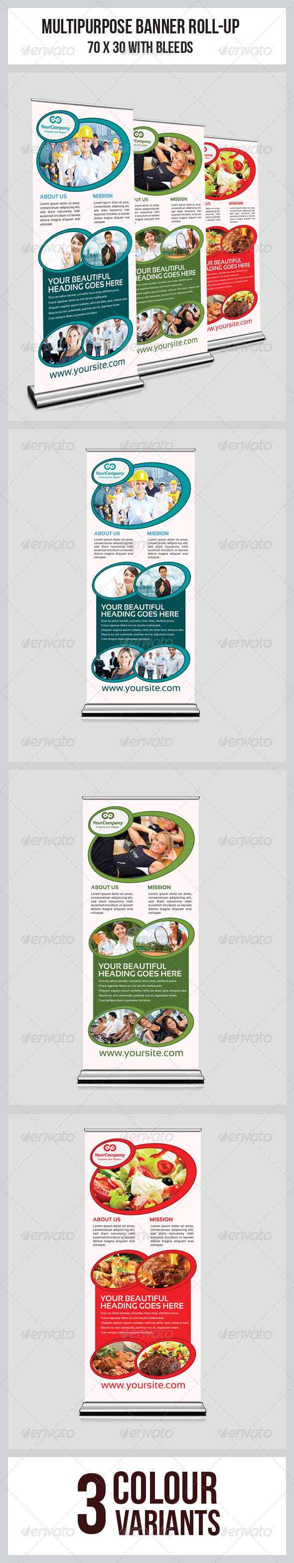 GraphicRiver Multipurpose Business Roll-Up 6737067