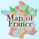 Interactive Map of France - with Zoom & Placemarks - ActiveDen Item for Sale