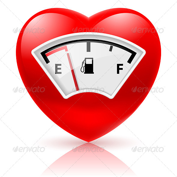 GraphicRiver Heart with Fuel Indicator 6737143
