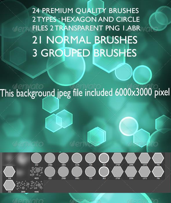 GraphicRiver Bokeh Brush Set 6737186