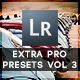 30 Extra Pro Presets Vol 3 - GraphicRiver Item for Sale
