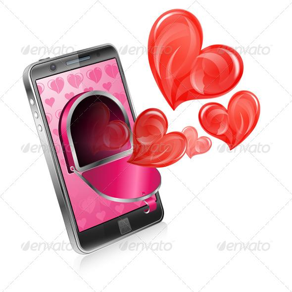 GraphicRiver Love Letter Concept 6737226