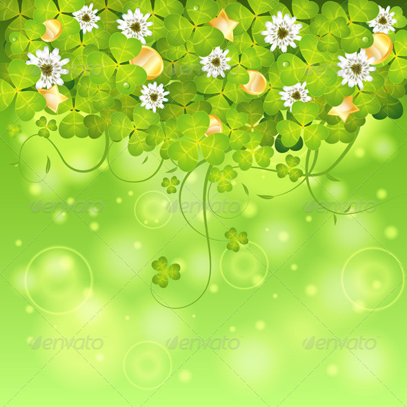 GraphicRiver St Patrick Day Frame 6737233
