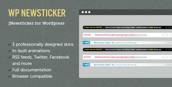 jNewsticker for Wordpress