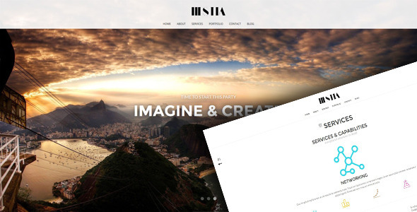 Hestia - Responsive Unique HTML 5 Template - Creative Site Templates