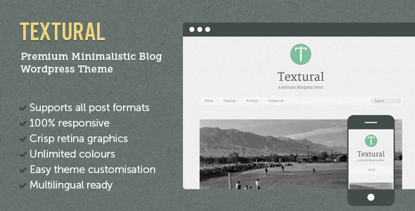 Textural Wordpress Theme