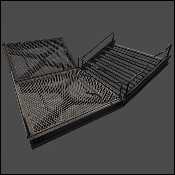 Metal Catwalk Set - 3DOcean Item for Sale