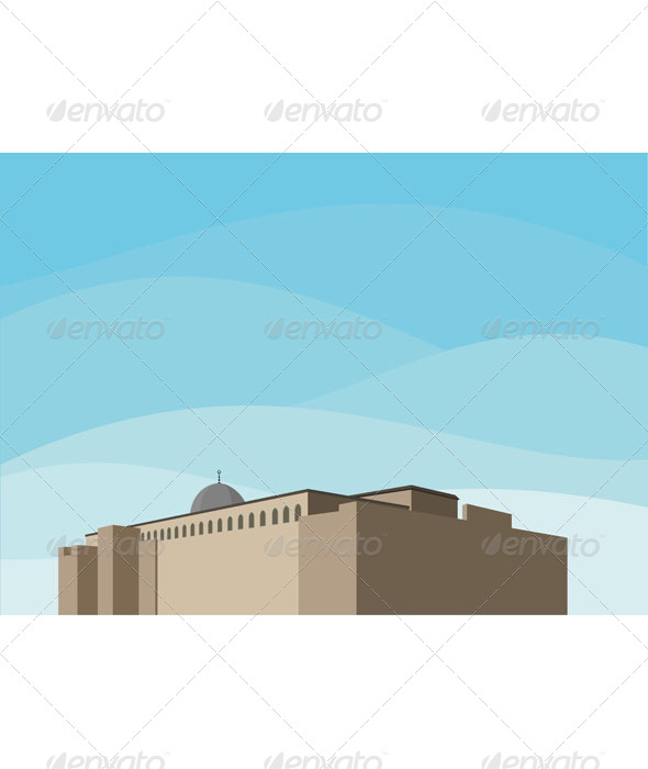 GraphicRiver Mediterranean Fortress 6729156