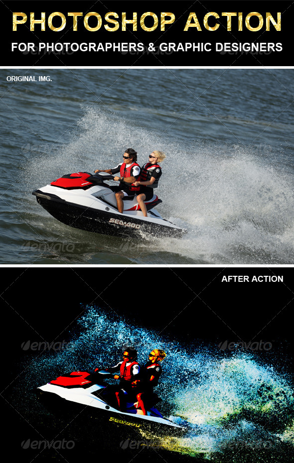 GraphicRiver Photoshop Action 6739099