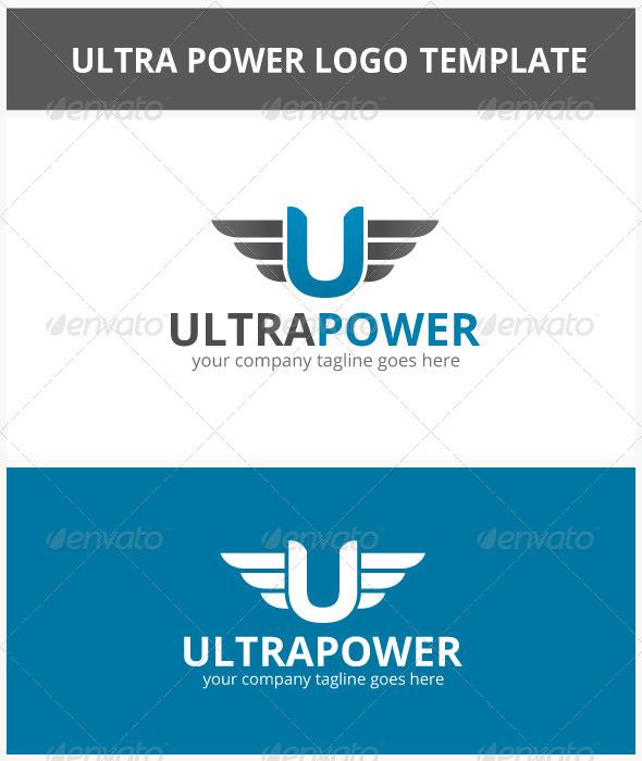 GraphicRiver Ultra Power Logo 6739228