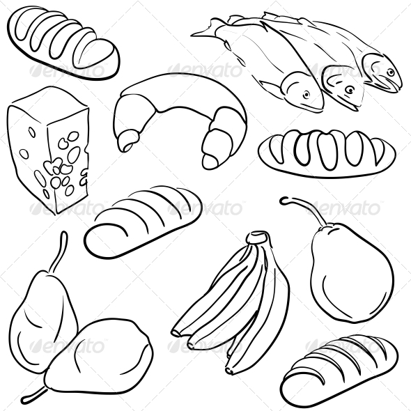 GraphicRiver Food Icons 6739233