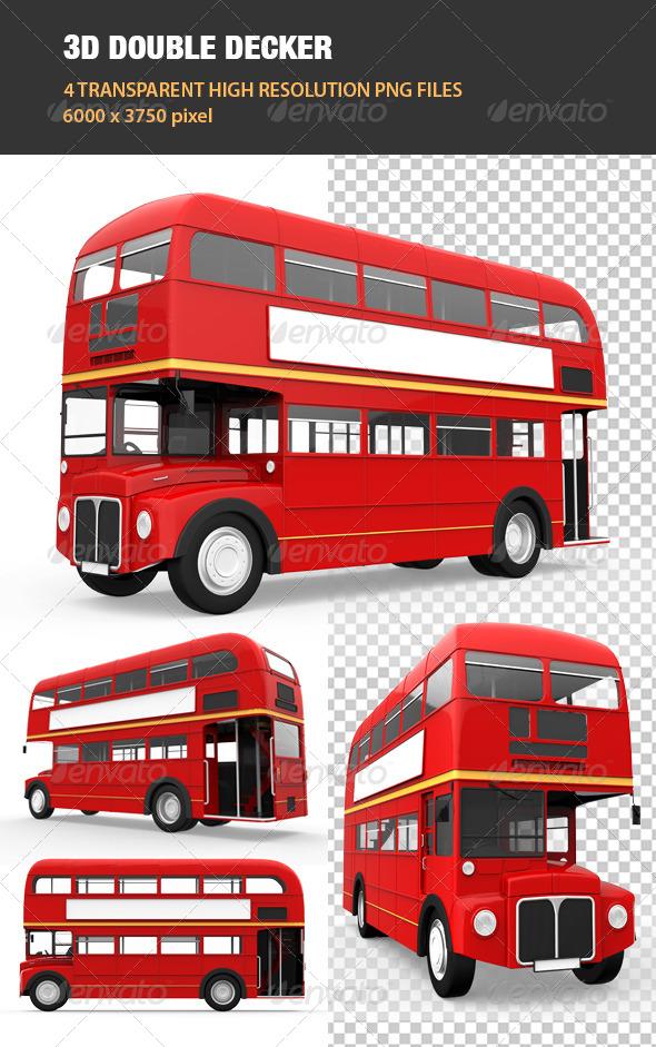 GraphicRiver 3D Double Decker 6739292