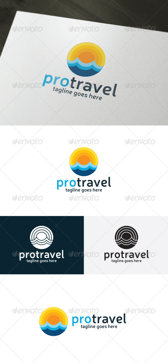 GraphicRiver Pro Travel Logo 6739359