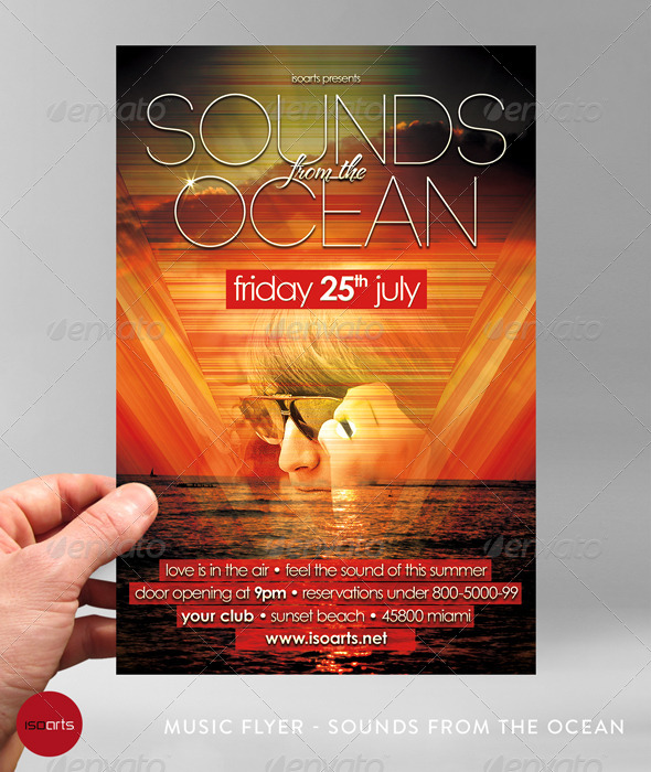 Summer Beach Party Flyer - Vol.3 - Clubs & Parties Events