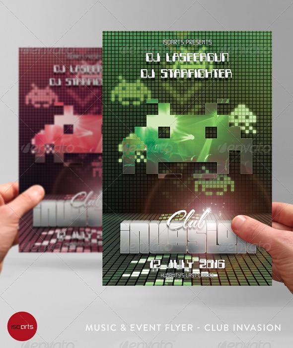 Retro Party Flyer - Vol.2 - Clubs & Parties Events