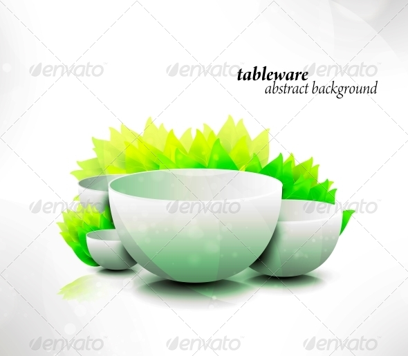 GraphicRiver Abstract Tableware 6740151