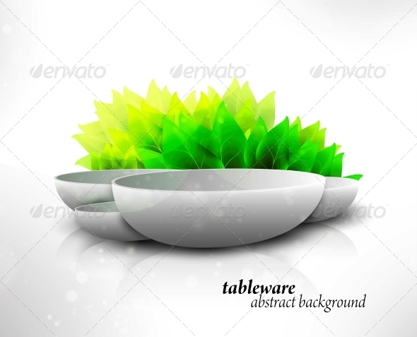 GraphicRiver Abstract Tableware 6740155