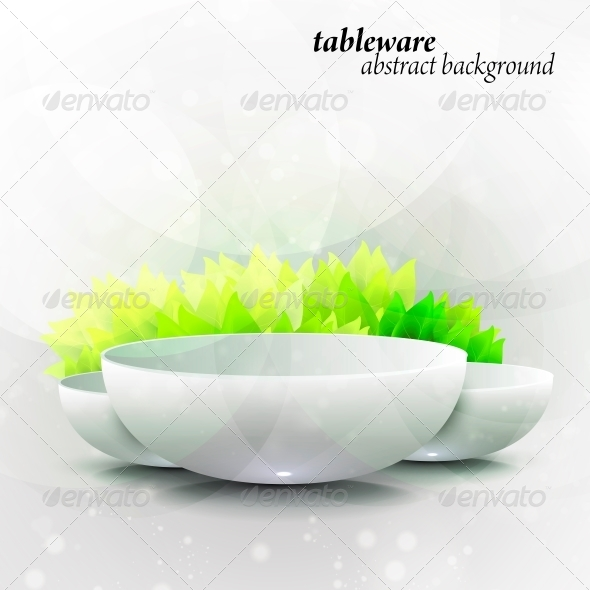 GraphicRiver Abstract Tableware 6740157