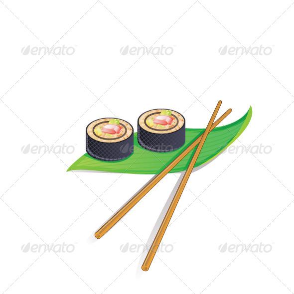 GraphicRiver Sushi 6740298