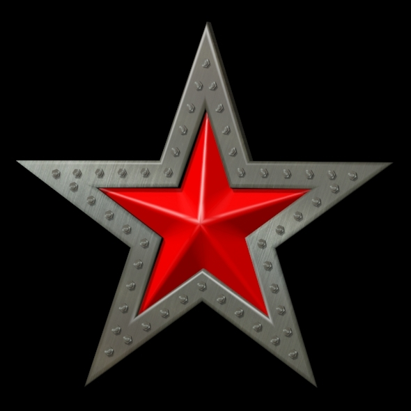 3DOcean Red star 6740326
