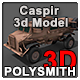 Casspir - Armored Personal Carrier APC - 3DOcean Item for Sale
