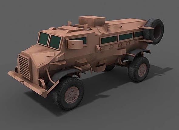 3DOcean Casspir Armored Personal Carrier APC 6740605