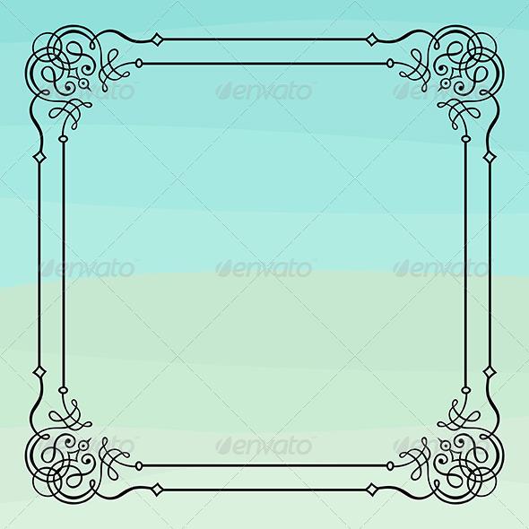 GraphicRiver Elegance Frame 6740813