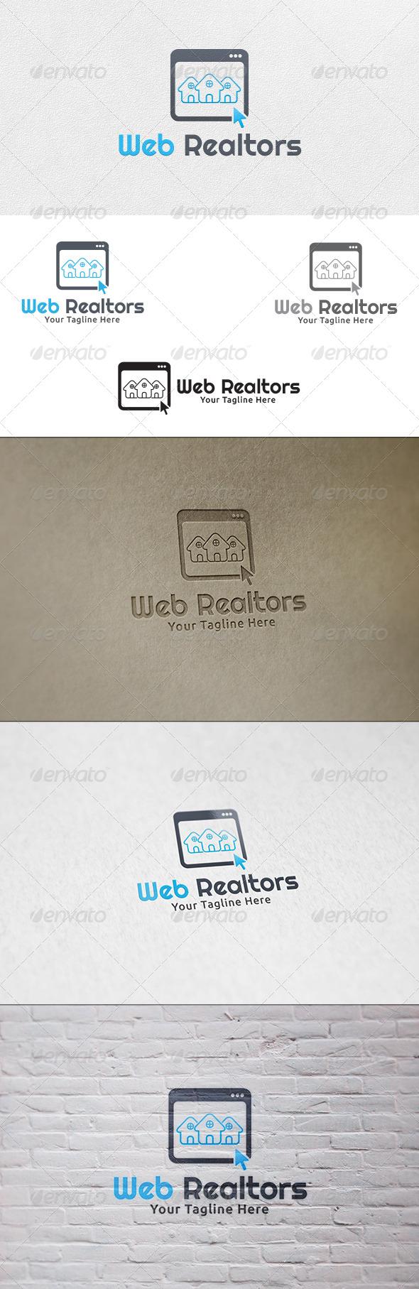 GraphicRiver Web Realtors Logo Template 6740938