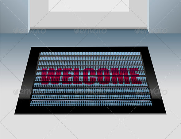 GraphicRiver Doormat Welcome 6741340