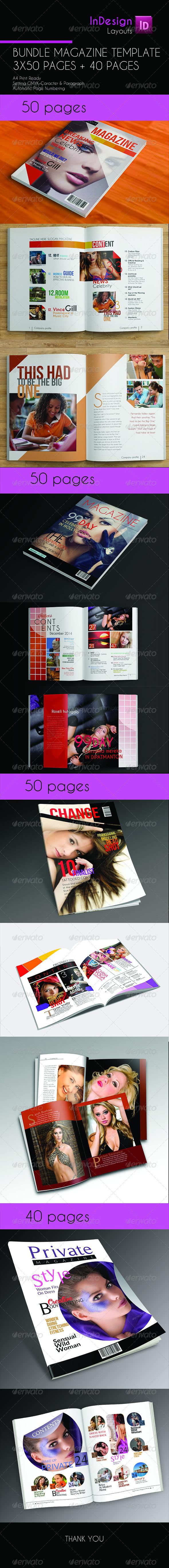 GraphicRiver MagzTemplate Bundle 6741342