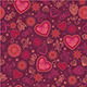 10 Vector Seamless Valentine Patterns