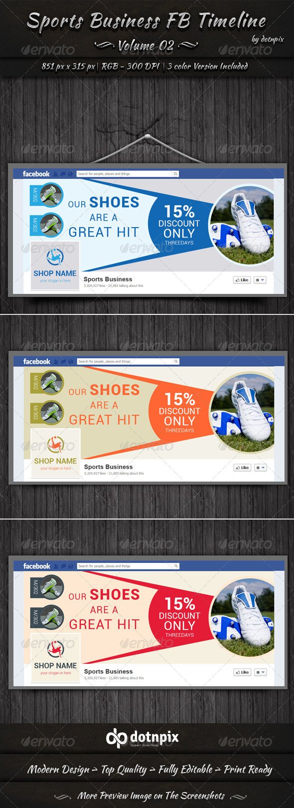 GraphicRiver Sports Business FB Timeline Cover Volume 2 6741736