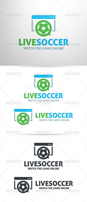 GraphicRiver Live Soccer Logo Template 6742241