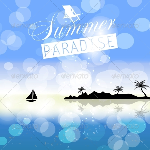 GraphicRiver Summer Holidays Background 6742303