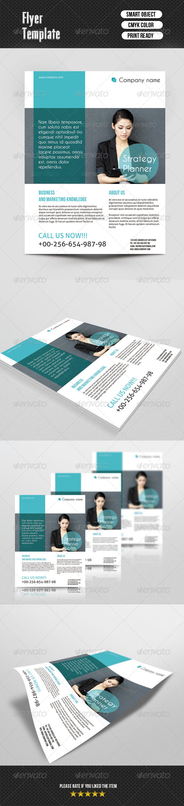GraphicRiver Busines Flayer Template 6742665