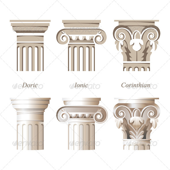GraphicRiver Columns in Different Styles 6743028
