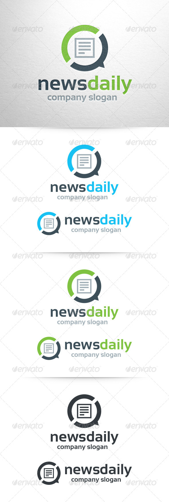 GraphicRiver News Daily Logo Template 6743029
